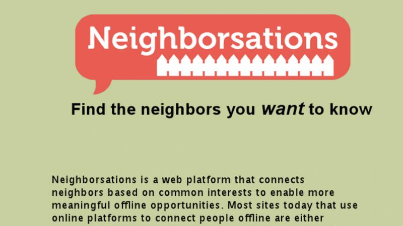 Neighborsations