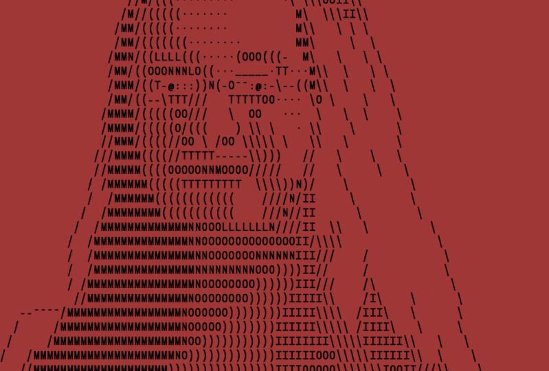 ASCII Self Portrait