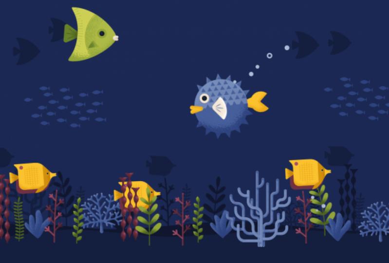Underwater Looping Scene
