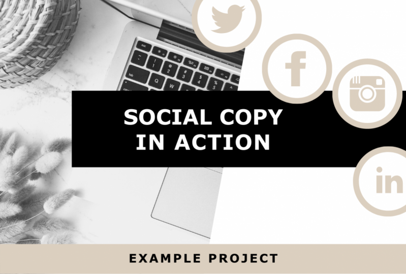 Social Copy in Action: Example Project