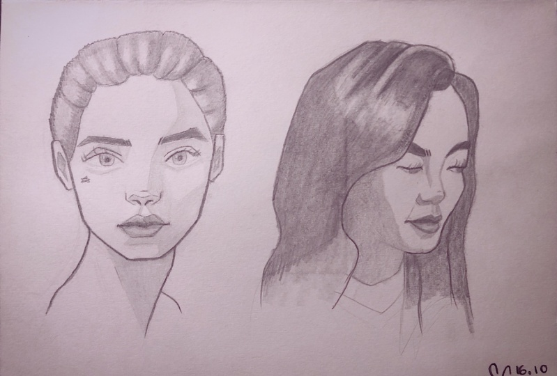 Portraits from reference