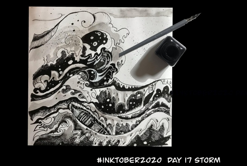 Project for inktober 2020