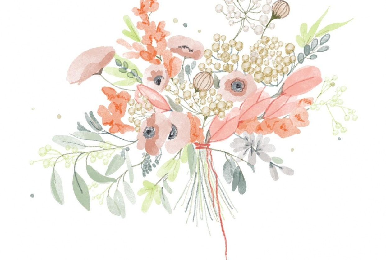 Wildflower Bouquet Skillshare Projects