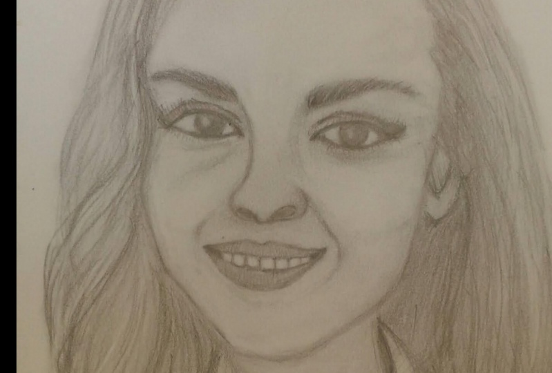 THE GIRL - PORTRAIT SKETCH