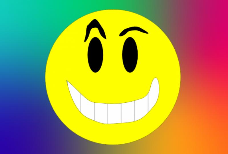Beginner Illustrator Smiley Face
