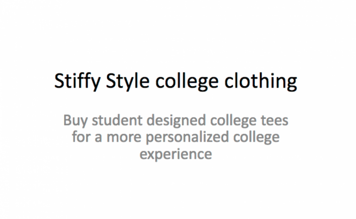 Stiffy Style college clothing