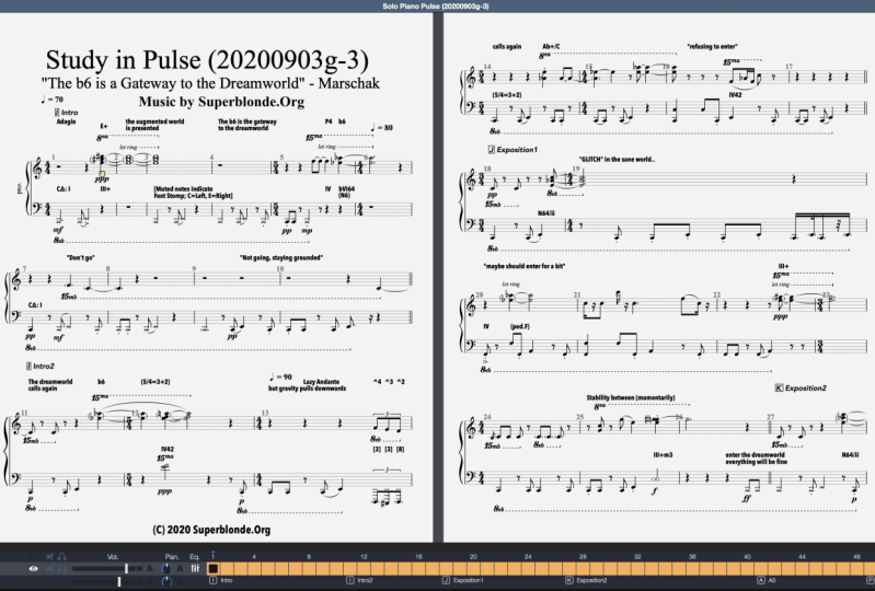 """""""Pulse"""", Modern Piano Composition (Draft)"""