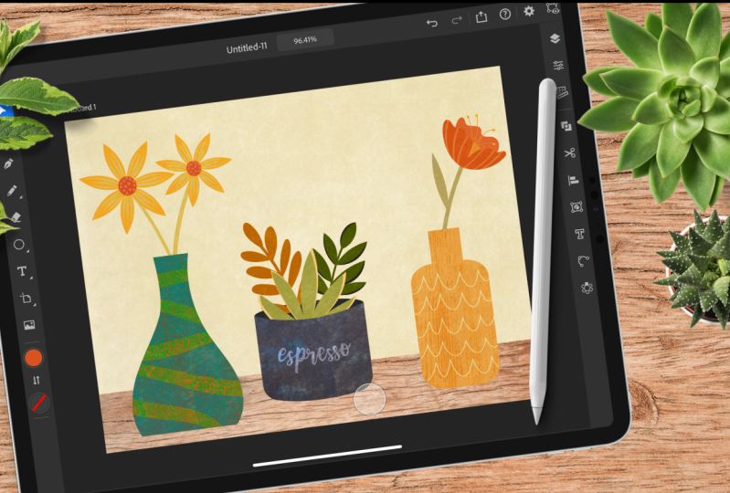 It's finally here! Adobe Illustrator for iPad