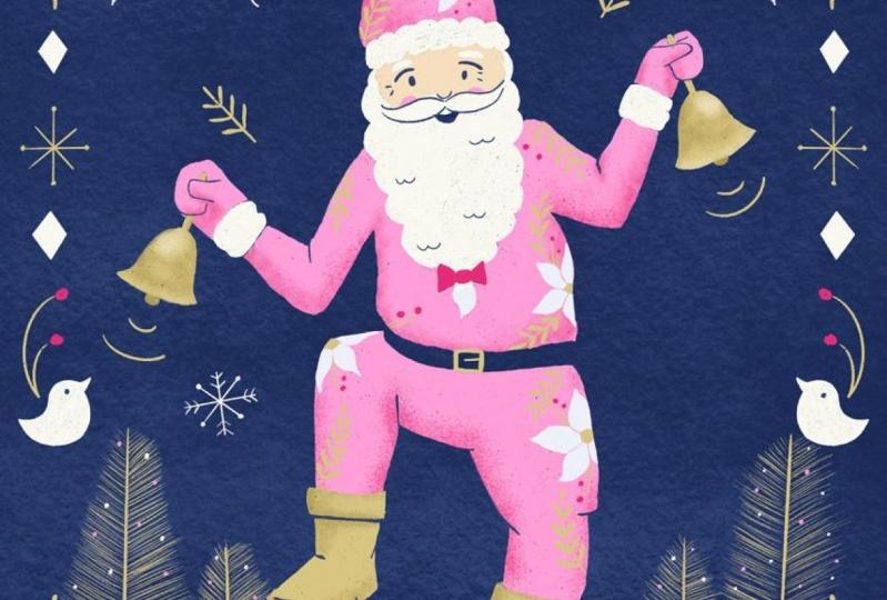 Procreate Santa Illustration and Worksheets