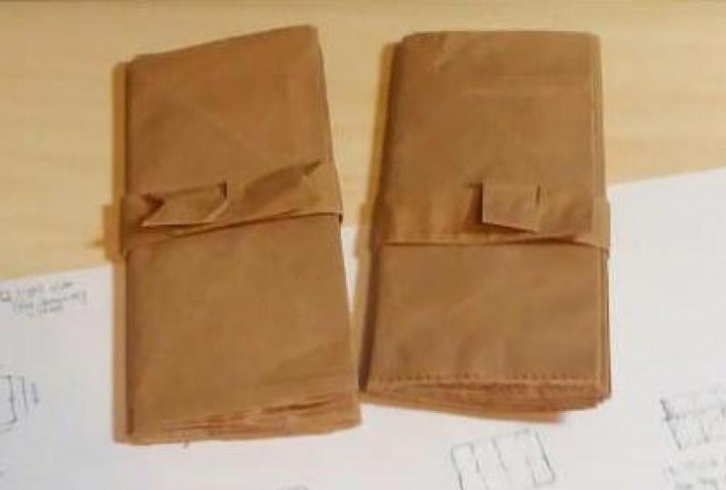 Brown sketchbooks