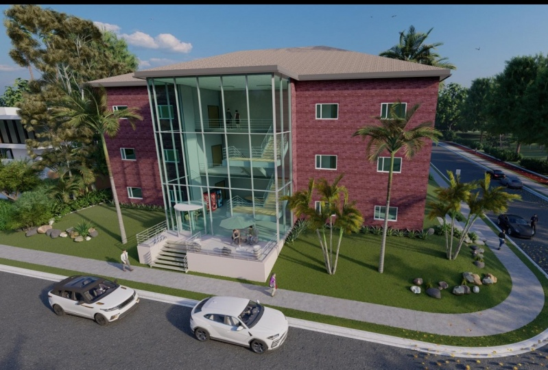 Two Storey Office Building Design
