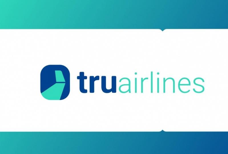 tru airlines branding