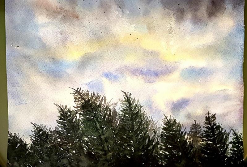 Le ciel et la lumière
