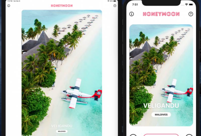 Build Honeymoon a Tinder-Like iOS App with SwiftUI