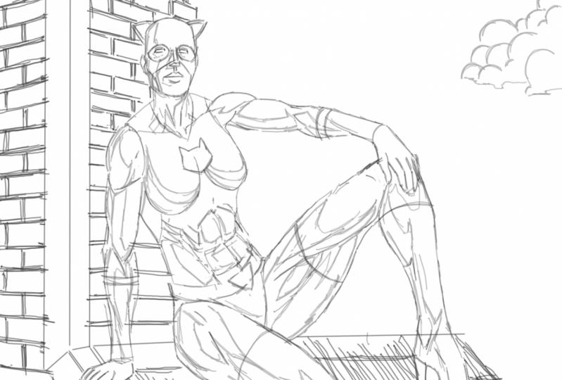 sketch layer practice