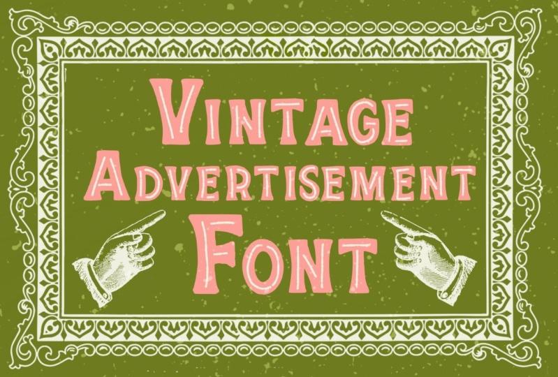 Vintage Inspired Fonts