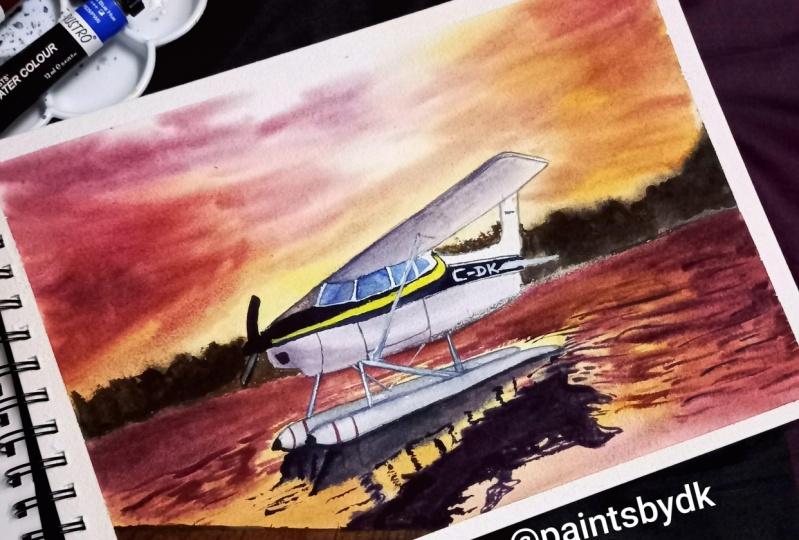 An attempt by Divya Kailasam- @paintsbydk