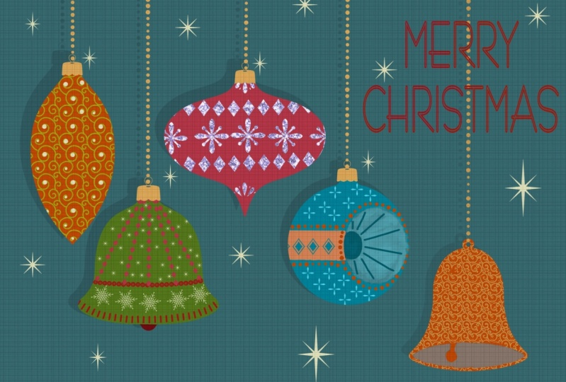 Christmas Ornaments and textures