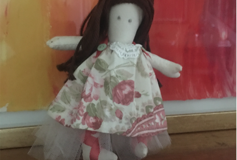 Kate - my 1st doll project