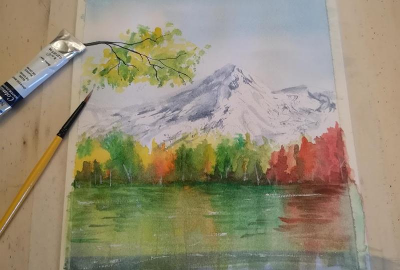 My autumn landscapes