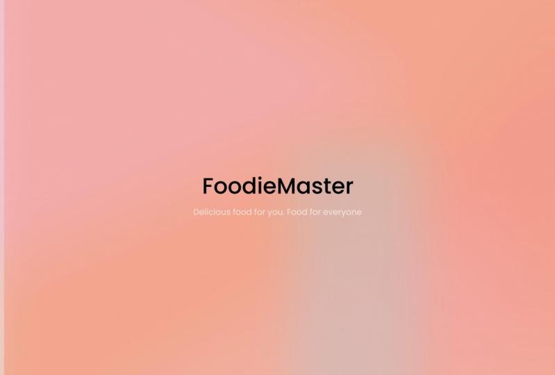 FoodieMaster