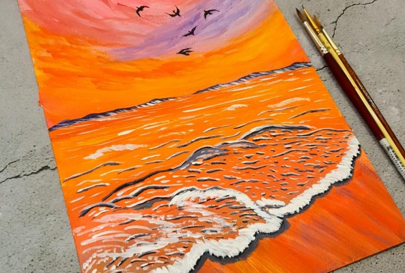 Pastel Seascapes
