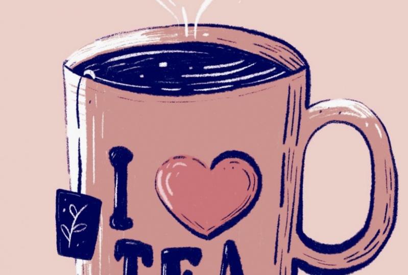 """I Love Tea"" Mug"