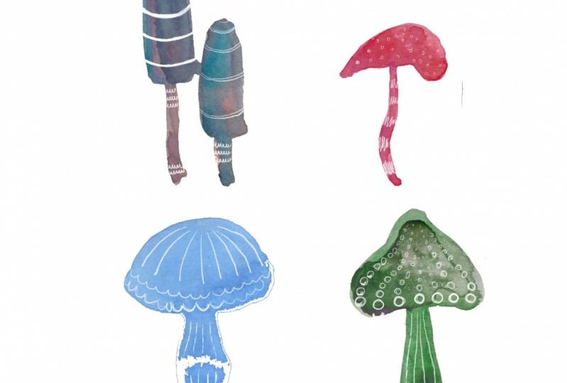 Digitize Watercolor Doodles