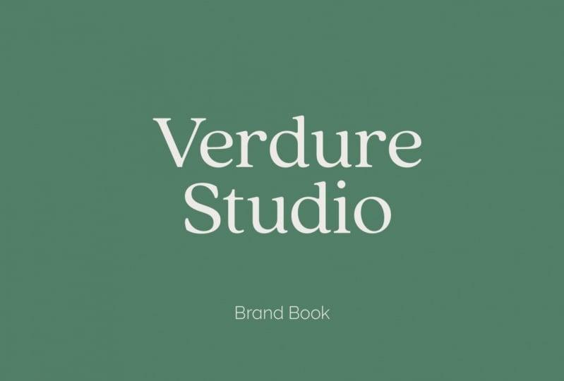 Verdure Studio Brand Book
