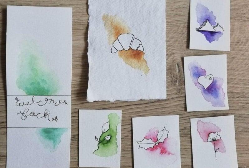 Watercolour Splashes