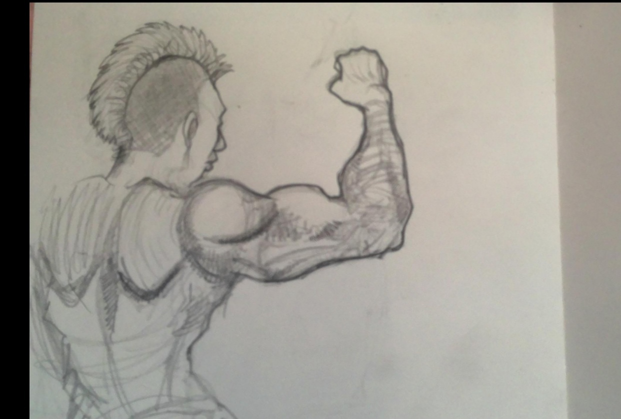 How To Draw And Shade Comic Book Style Arms And Anatomy Robert Marzullo Skillshare