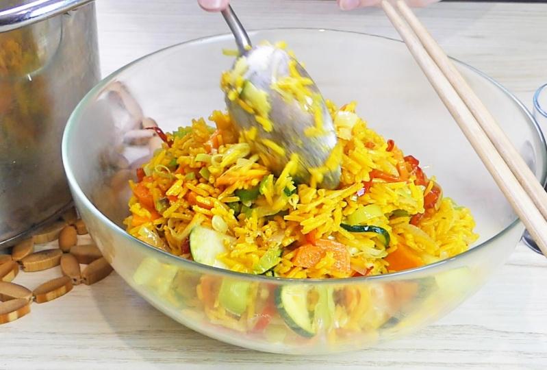 Oriental Stir Fry Rice
