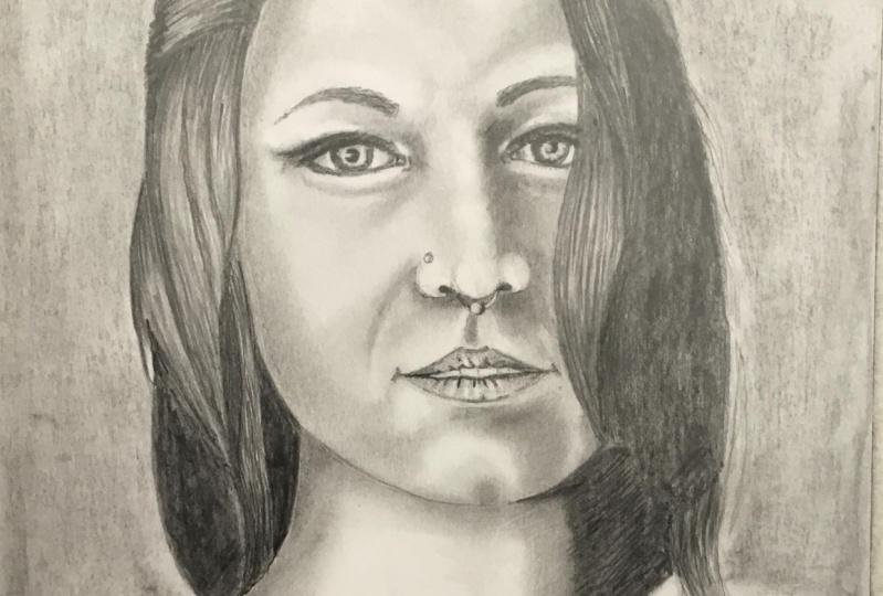 Pencil portrate