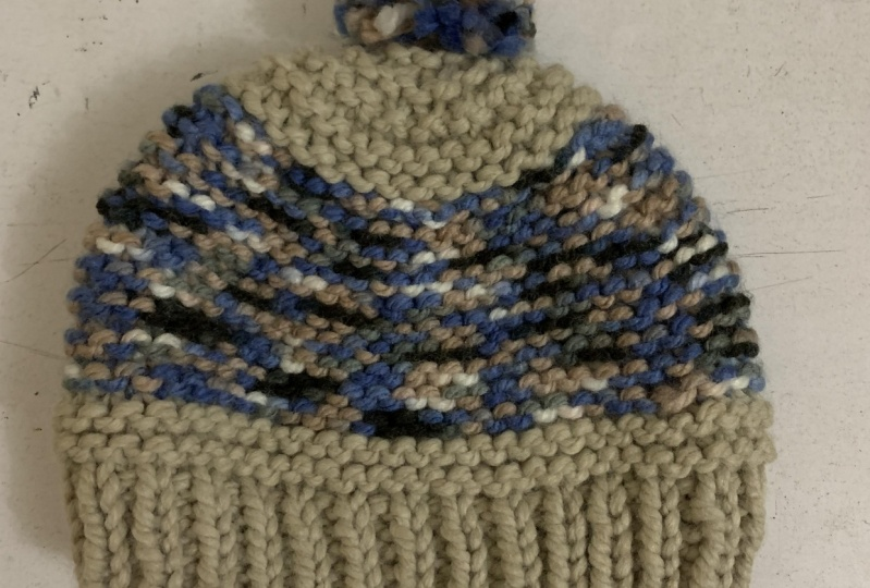 My first knitting project