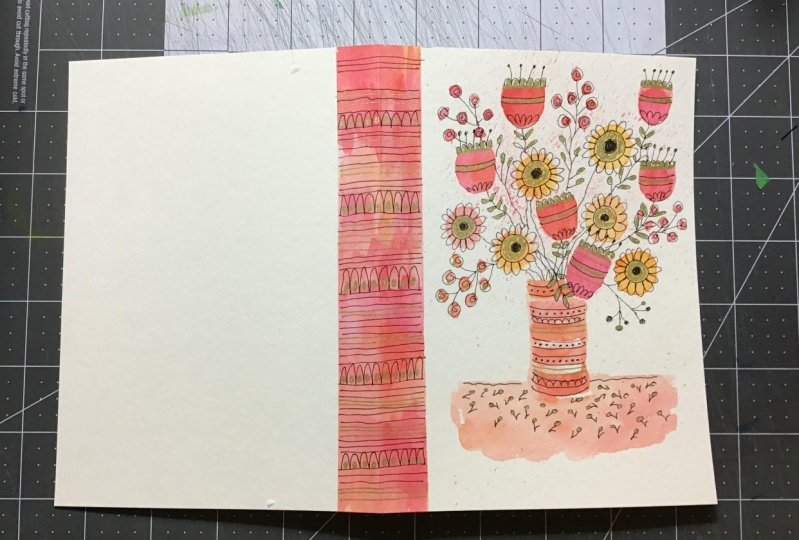 Inky Doodle Notebook with Lucie Duclos