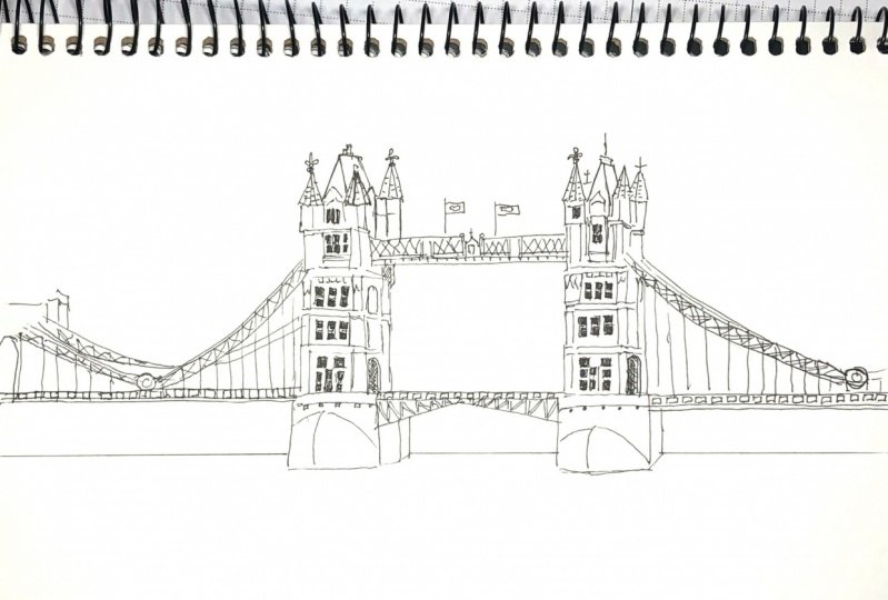 Learning to Draw Bridges