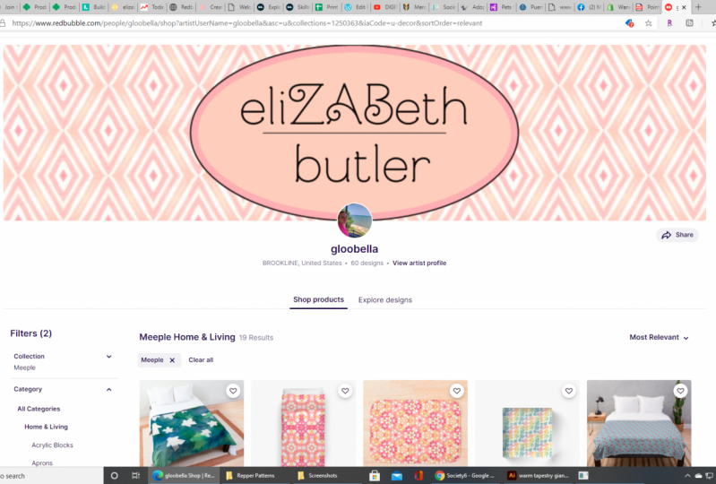 Beth's Redbubble Store