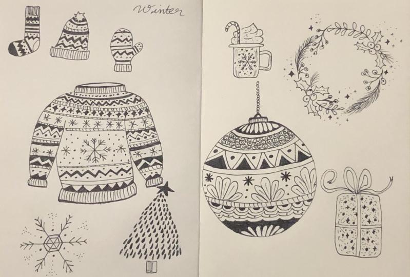 Winter Doodles!