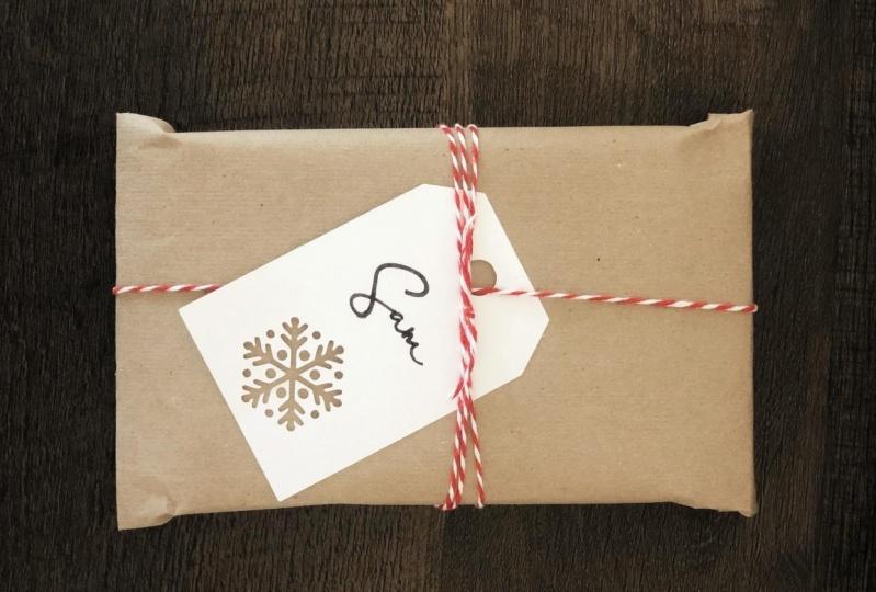 Snowflake Gift Tag