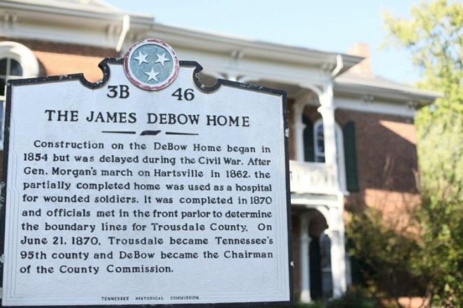 The James Debow House