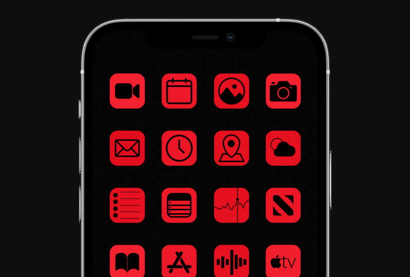 dbrand/MKBHD inspired ICONS icon pack