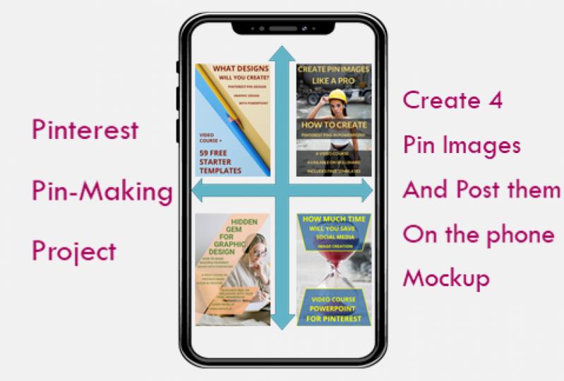 My Pinterest Pin-Making Project