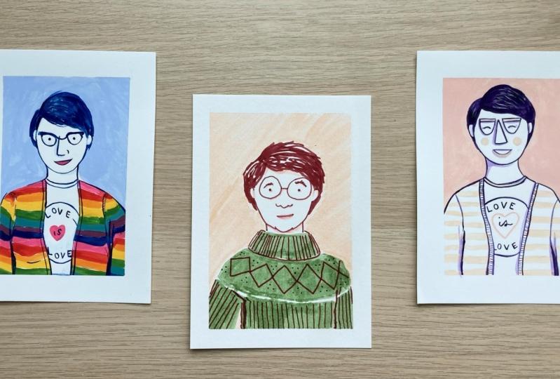 Self-Portraits Galore!