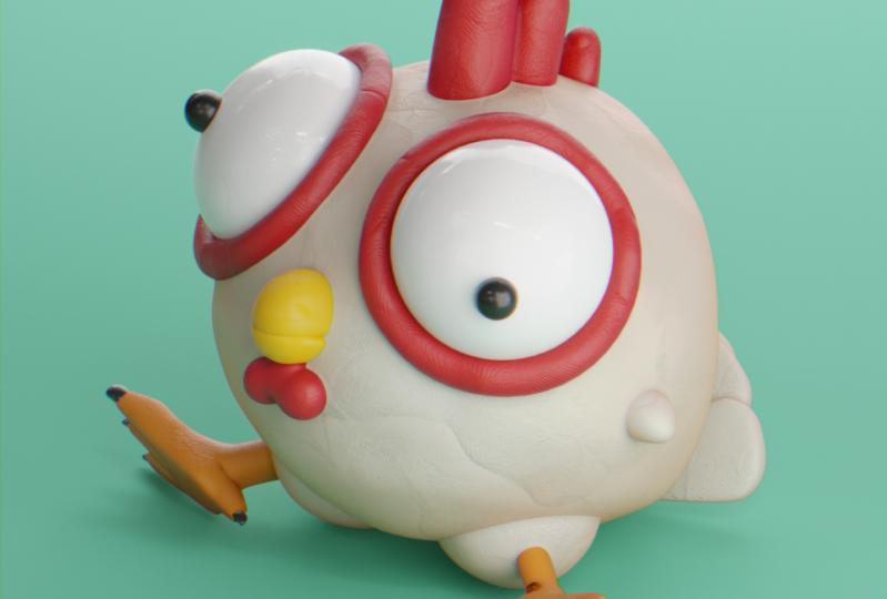Your First 3D Animation Final Result