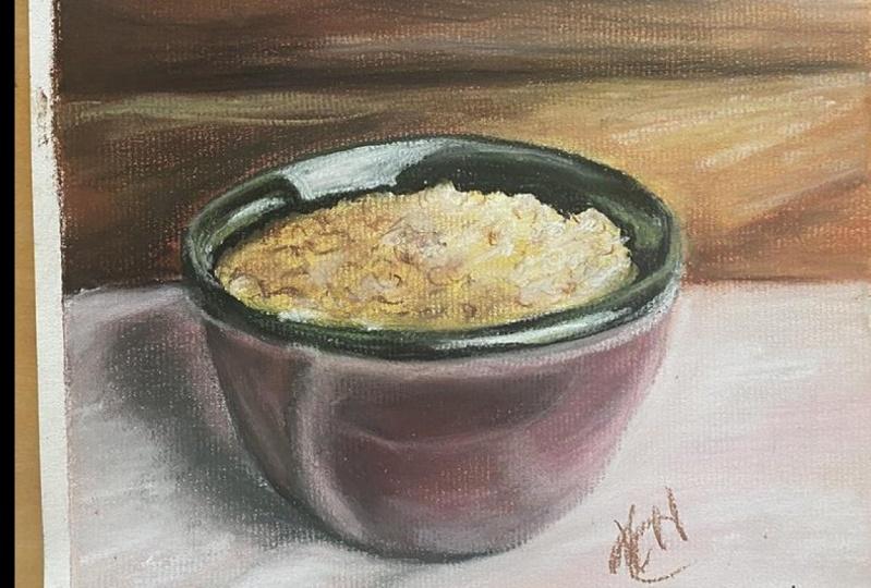 Pastel Study - Lentils