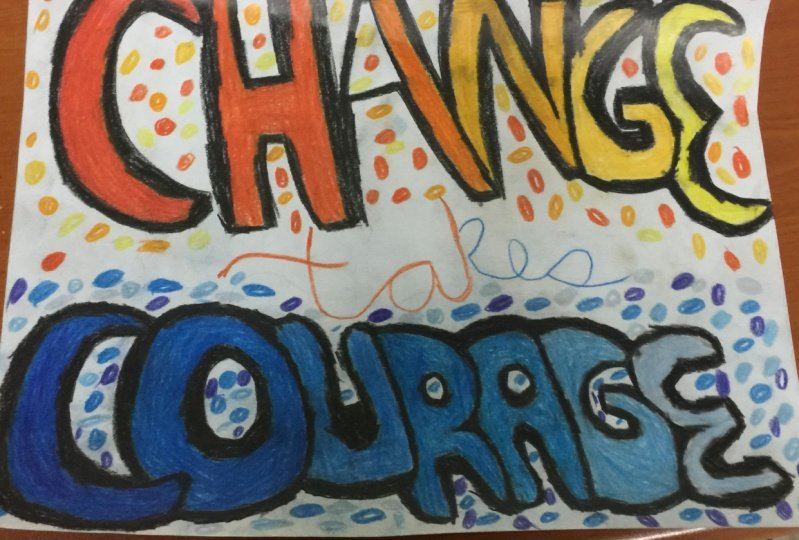 Change takes Courage