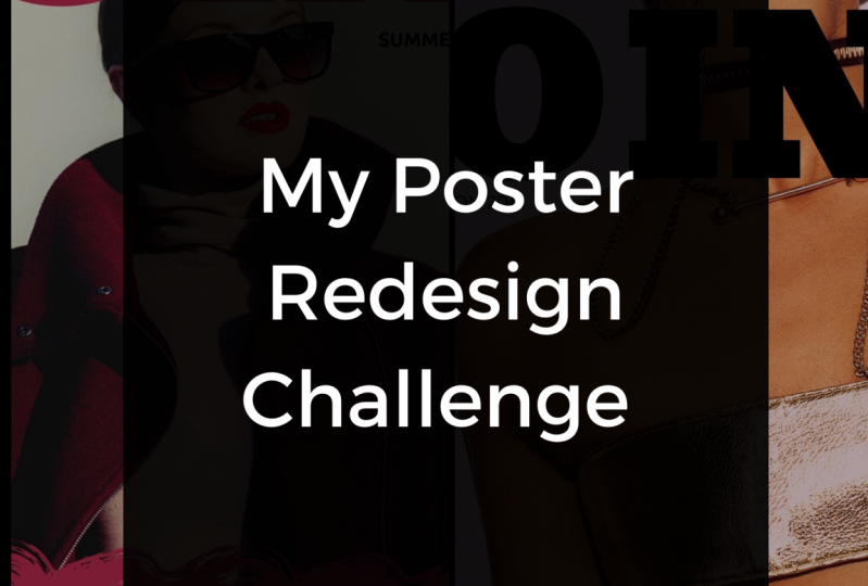 Poster Redesign Challenge