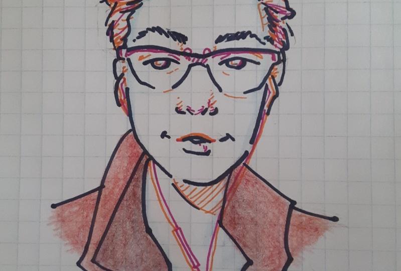 Doodle Self Portrait