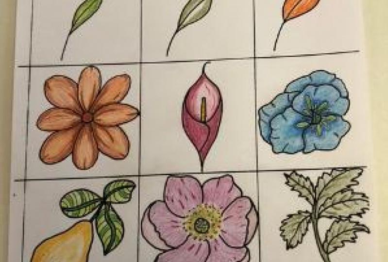 Colored Pencil Practice