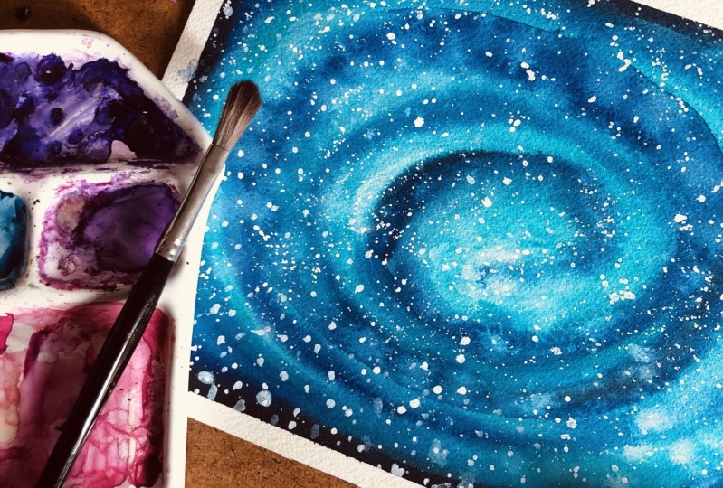 Galaxy by @lalaithbr